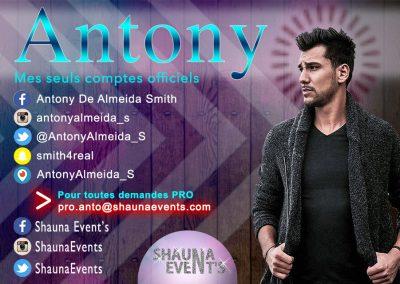 bannière web d' Antony ALMEIDA People SHAUNA EVENTS créé par Franck Cord'homme - été 2016 - Visible sur webtuto.fr