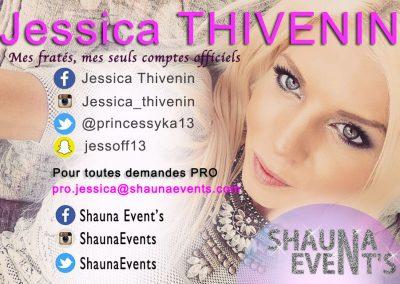 bannière web de Jessica THIVENIN People SHAUNA EVENTS créé par Franck Cord'homme - été 2016 - Visible sur webtuto.fr