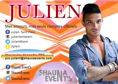 bannière web de Julien TANTI People SHAUNA EVENTS créé par Franck Cord'homme - été 2016 - Visible sur webtuto.fr
