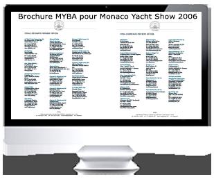 MYBA Members Brochure