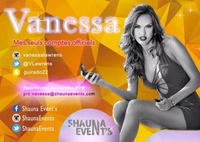 bannière web de Vanessa LAWRENS People SHAUNA EVENTS créé par Franck Cord'homme - été 2016 - Visible sur webtuto.fr